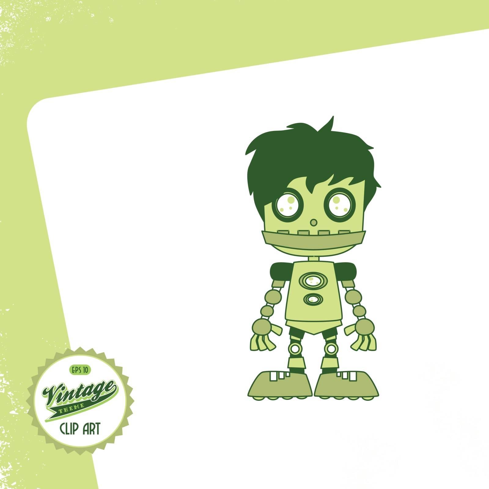 editable cartoon character vector graphic art design illustration