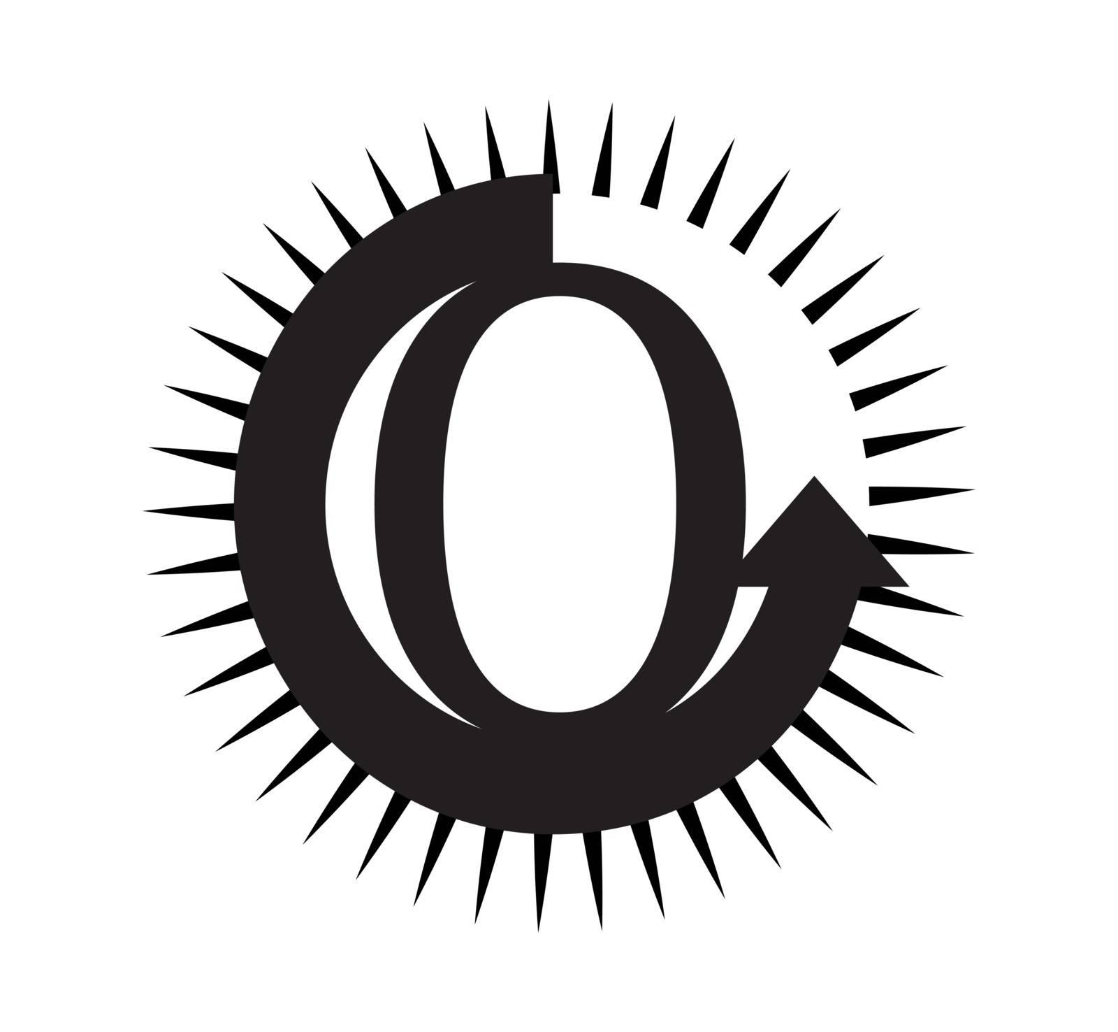 Logo concept design for O letter.