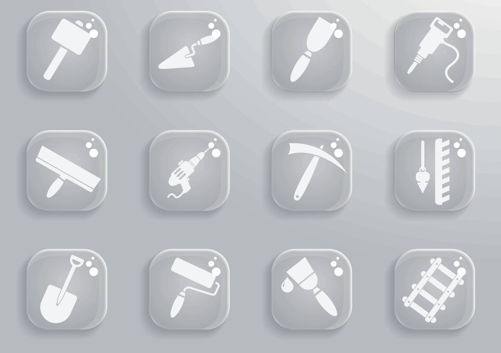 building equipment simply symbol for web icons and user interface