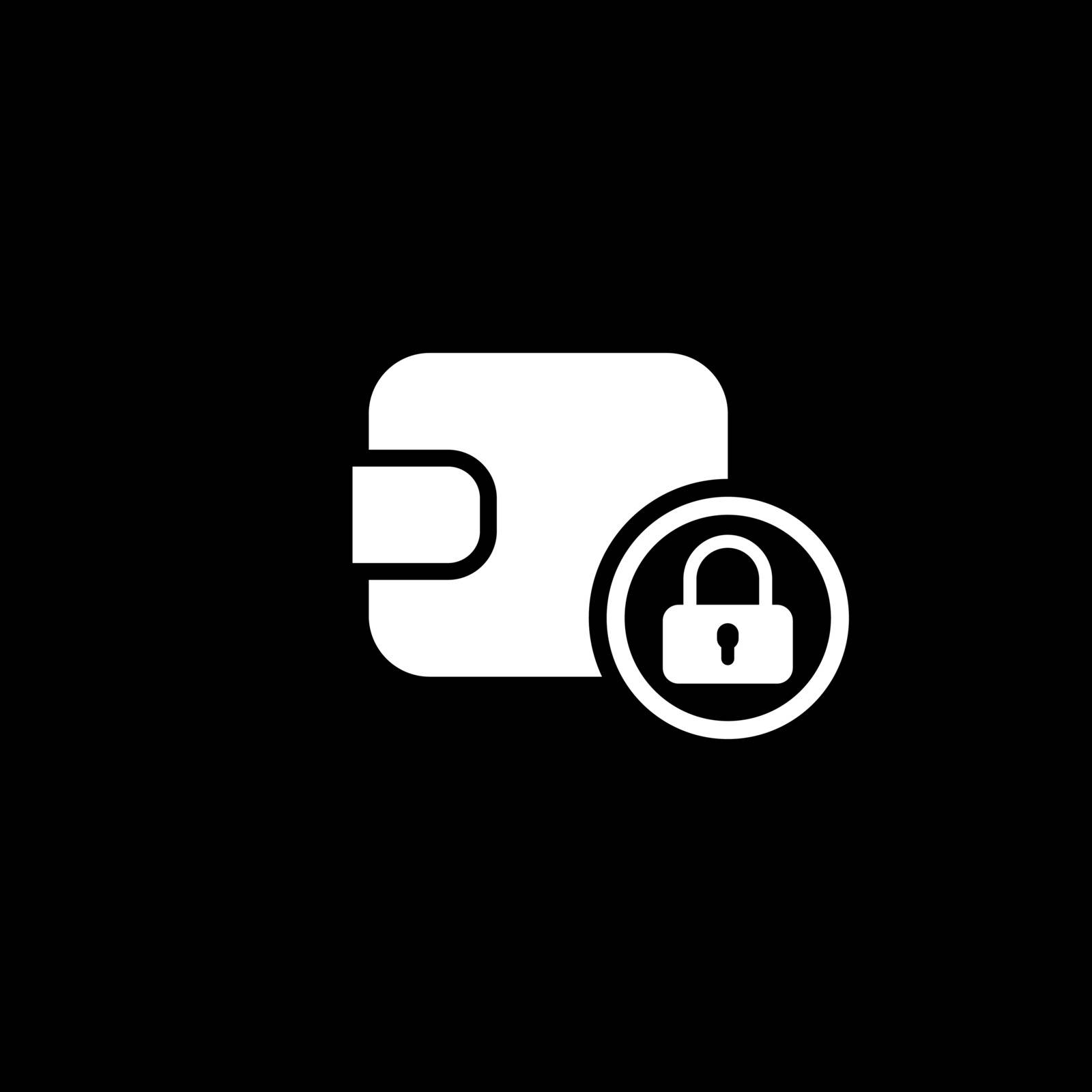 Assets Protection Icon. Flat Design. Business Concept Isolated Illustration.