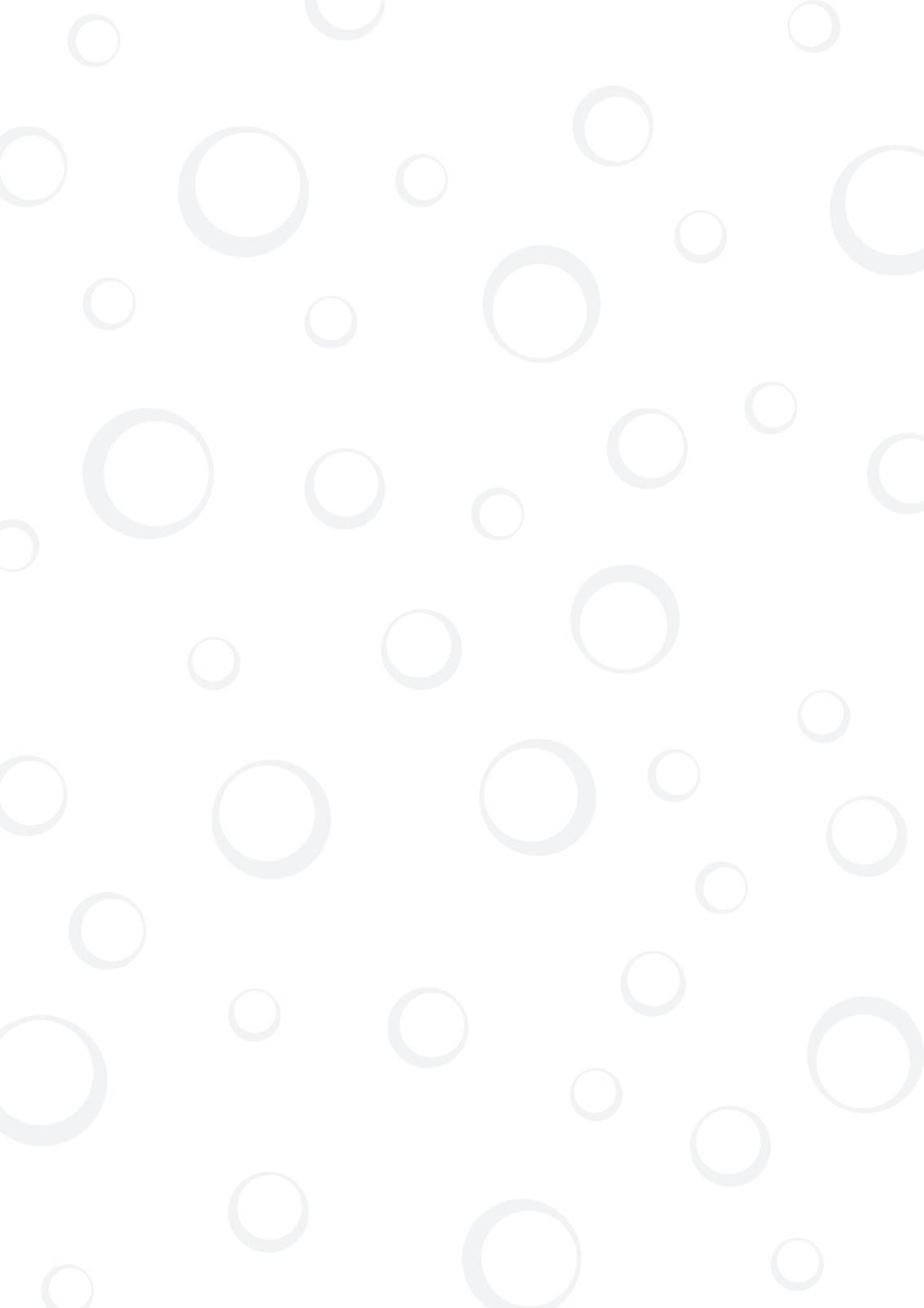 classic modern style of ring sponge backdrop on white background