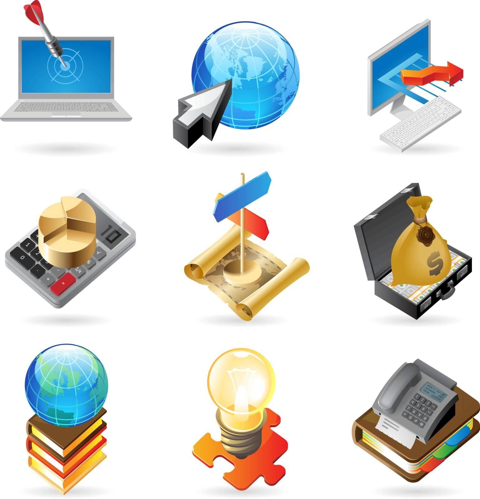 Icon concepts for success by ildogesto