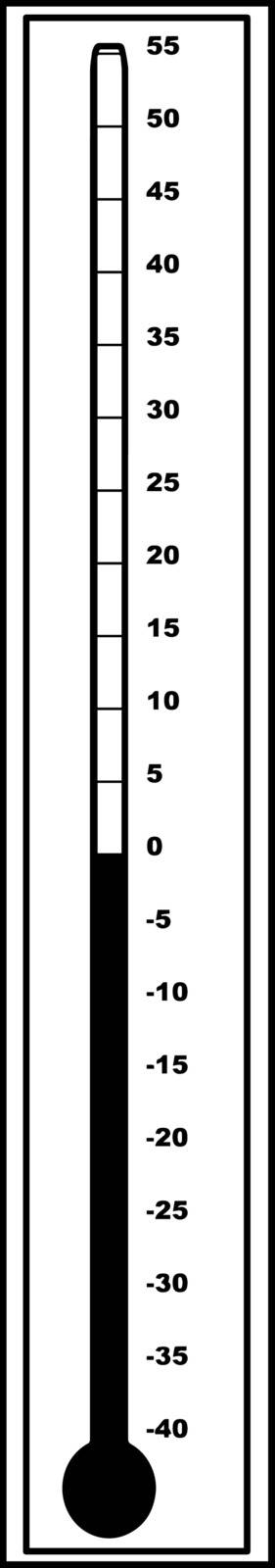This image is for thermometer which is showing temperature 0 degree Celsius Centigrade, vintage line drawing or engraving illustration.