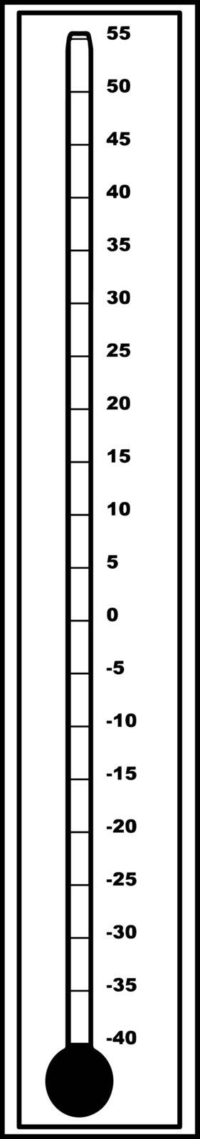 This image is for blank outdoor Celsius Centigrade thermometer, vintage line drawing or engraving illustration.
