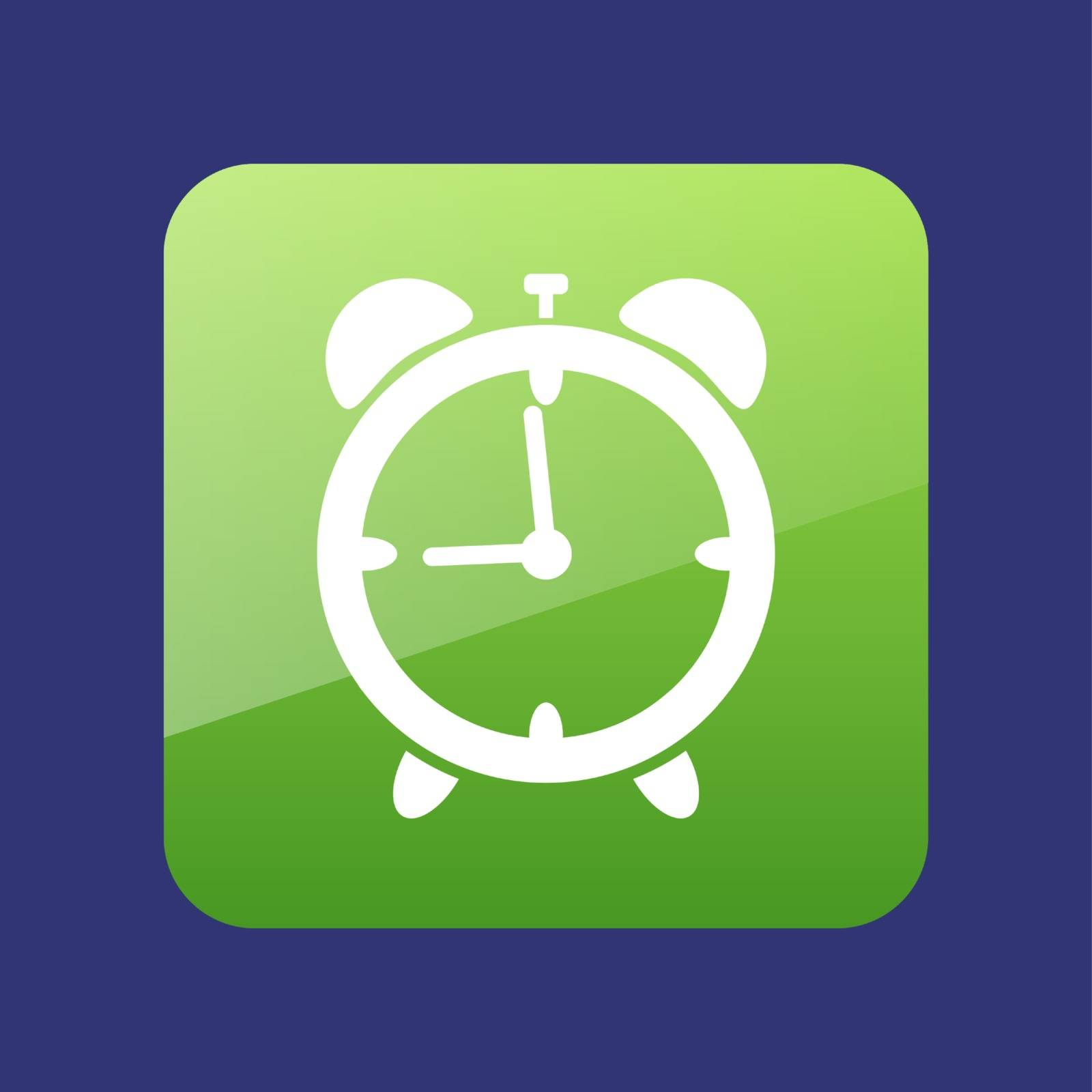 Alarm Clock vector icon, travel illustration , eps 10