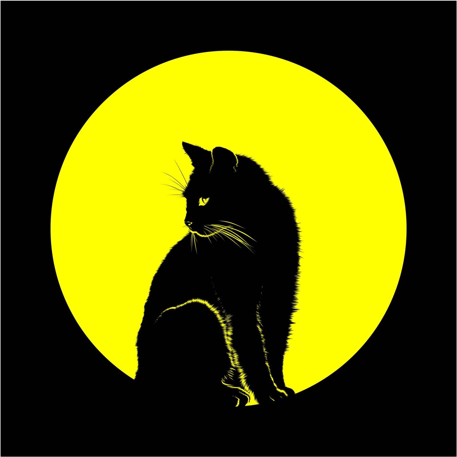 CAT MOON by samandale