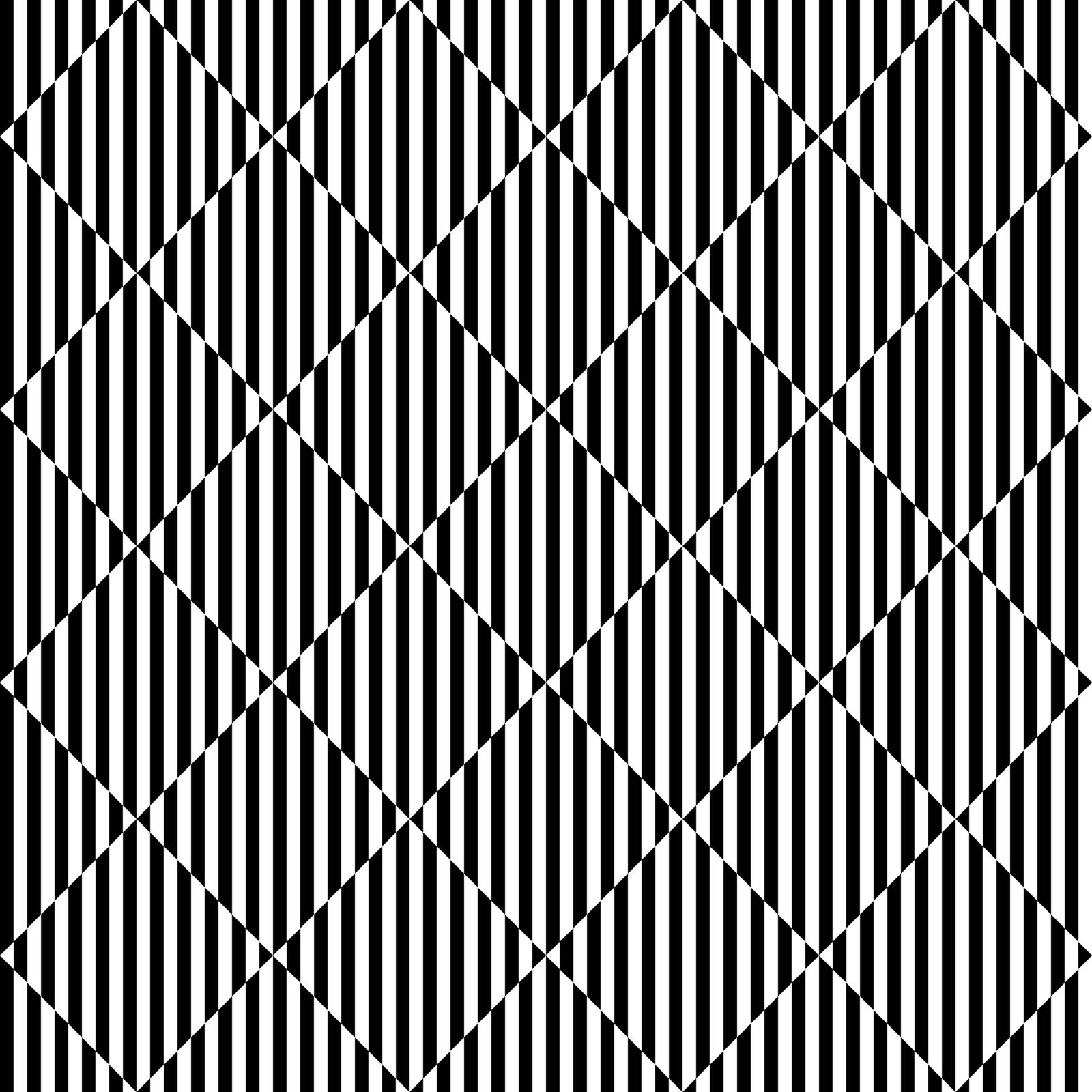 Seamless illustrated pattern - optical illusion - illustration appears to be moving