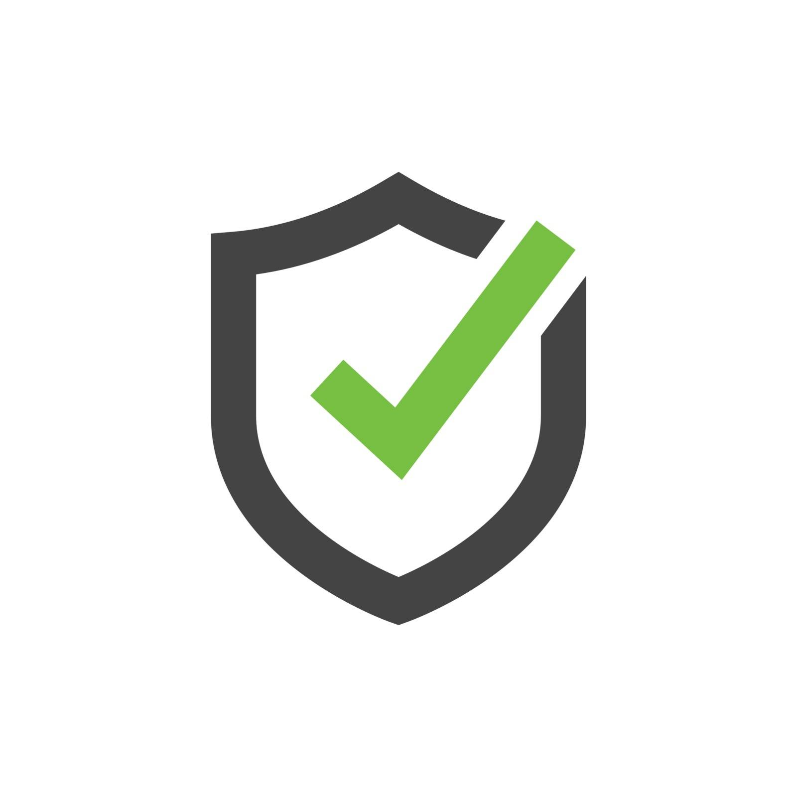 Secured, protection vector icon