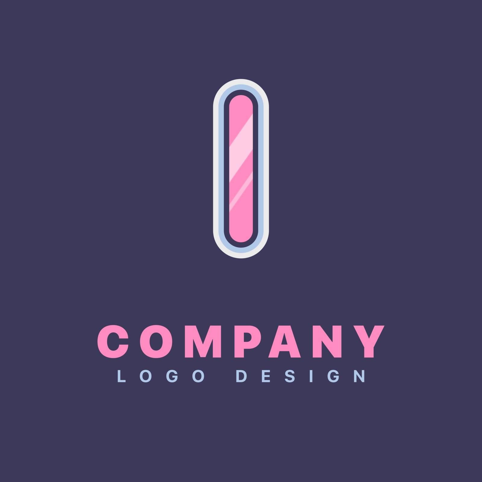 Letter L logo design template. Company logo icon