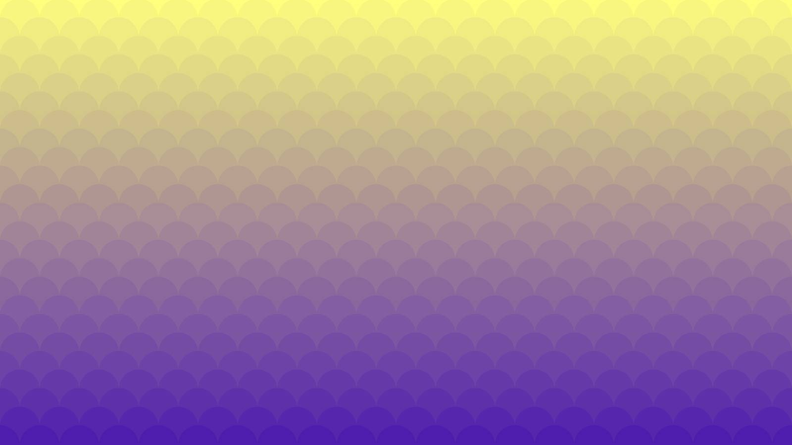 Yellow Violet Gradient vector pattern with small circles. Minimal abstract illustration for website, poster, banner ads.