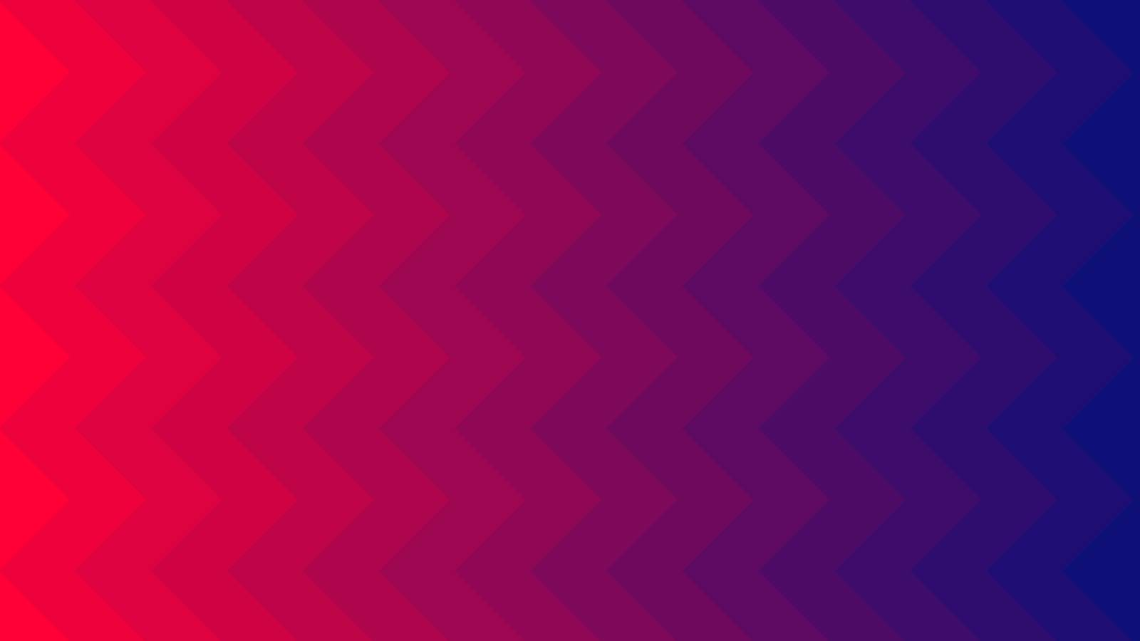 Hot Red and Deep Blue vector cover with zigzag. Modern abstract illustration for website, poster, banner ads.