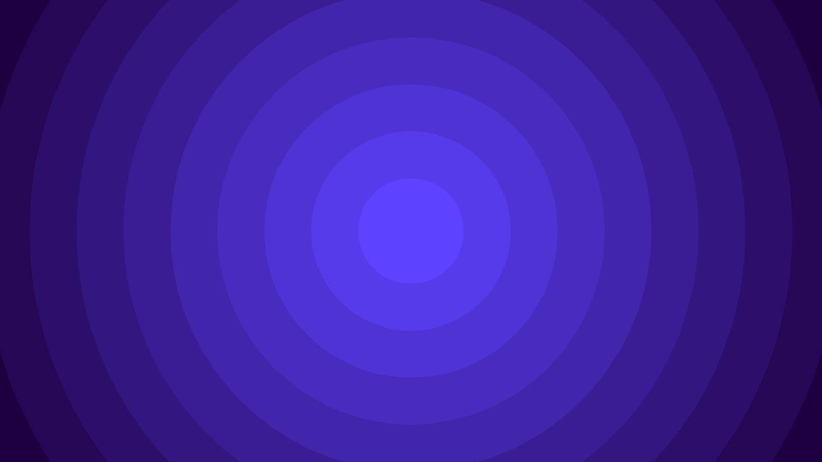 Violet Blue vector pattern with circles. Geometric abstract illustration for website, poster, banner ads.