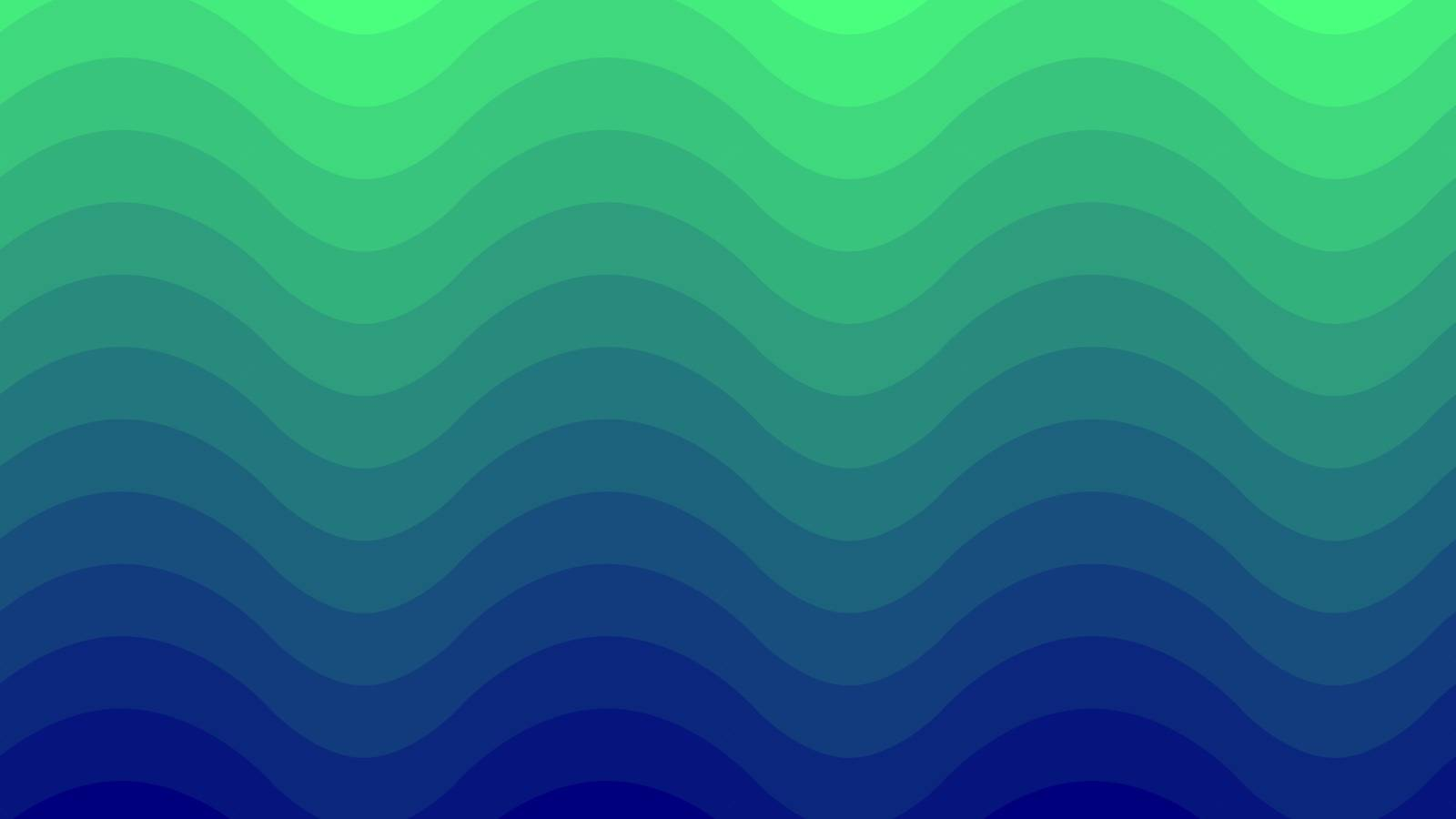 Green and Blue vector texture with waves. Graphic abstract illustration for website, poster, banner ads.