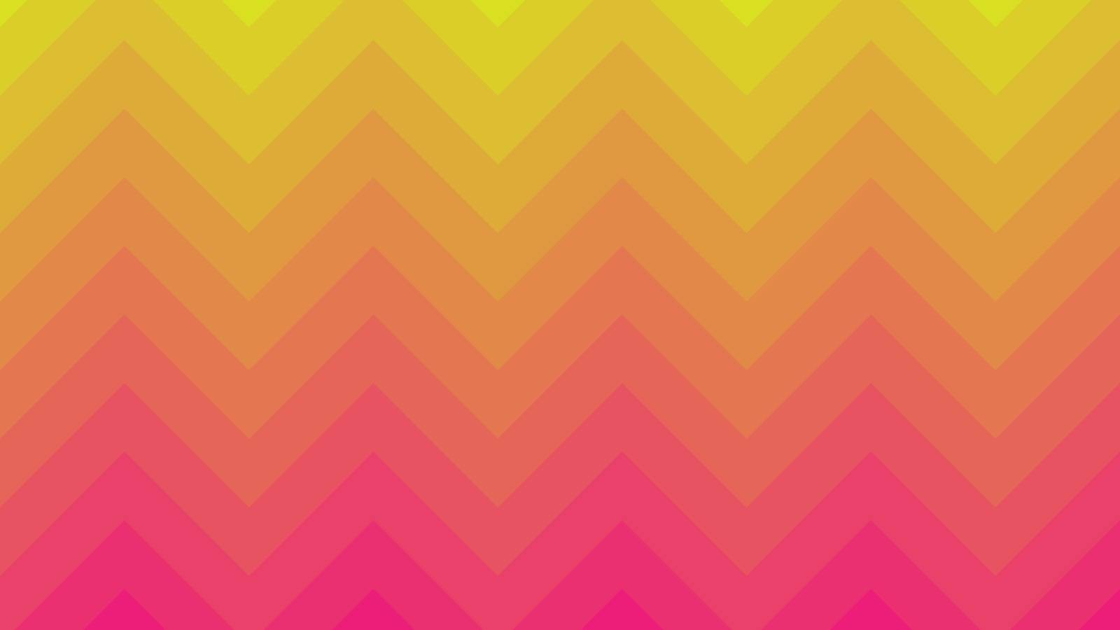 Yellow and Pink vector layout with triangles. Modern abstract illustration for website, poster, banner ads.