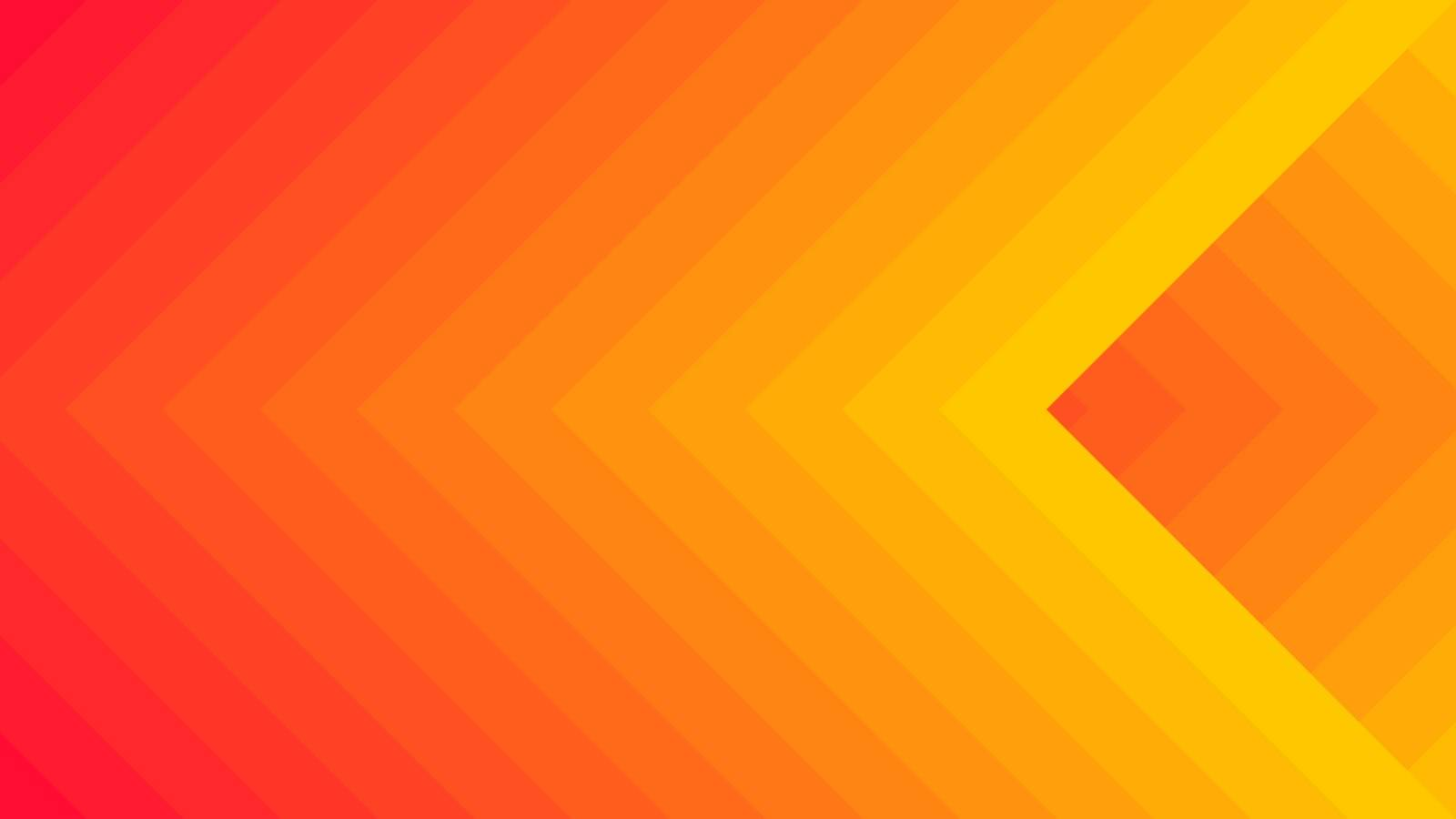 Red and Orange vector pattern with squares or rhombus. Graphic abstract illustration for website, poster, banner ads.