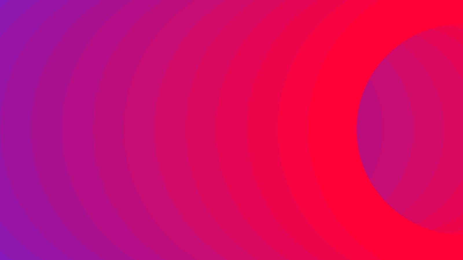 Violet and Pink vector layout with rings. Futuristic abstract illustration for website, poster, banner ads.
