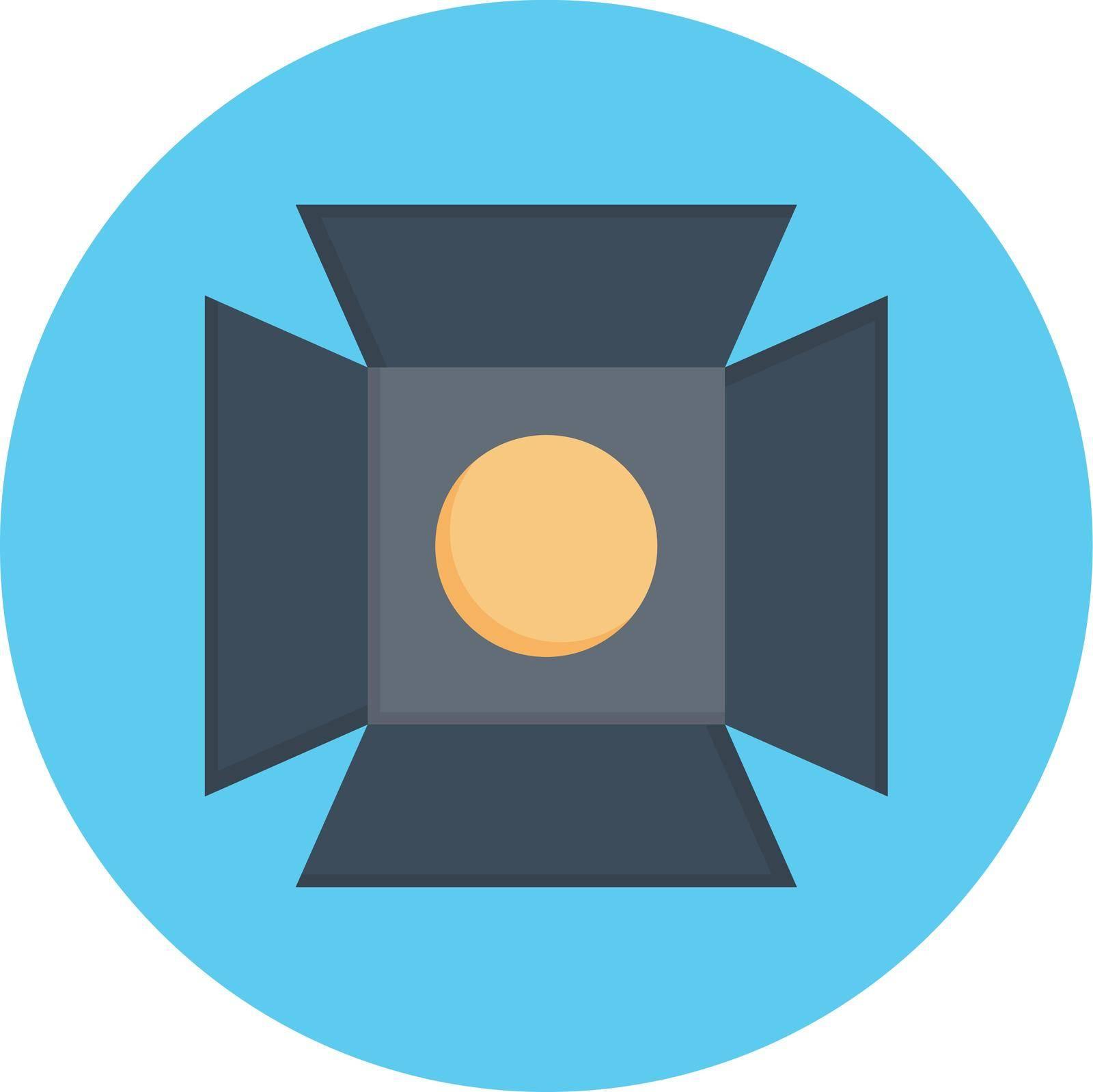light vector colour flat icon