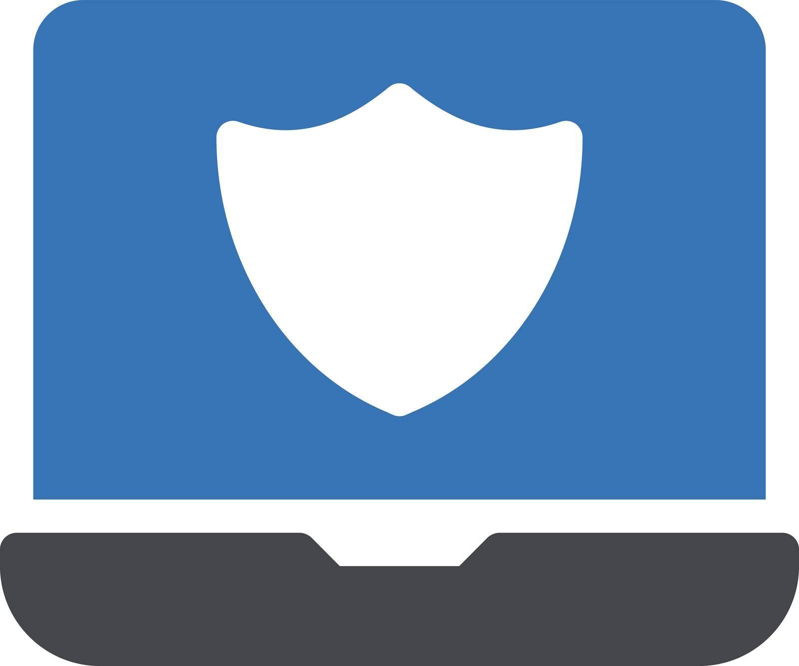 internet vector glyph colour icon