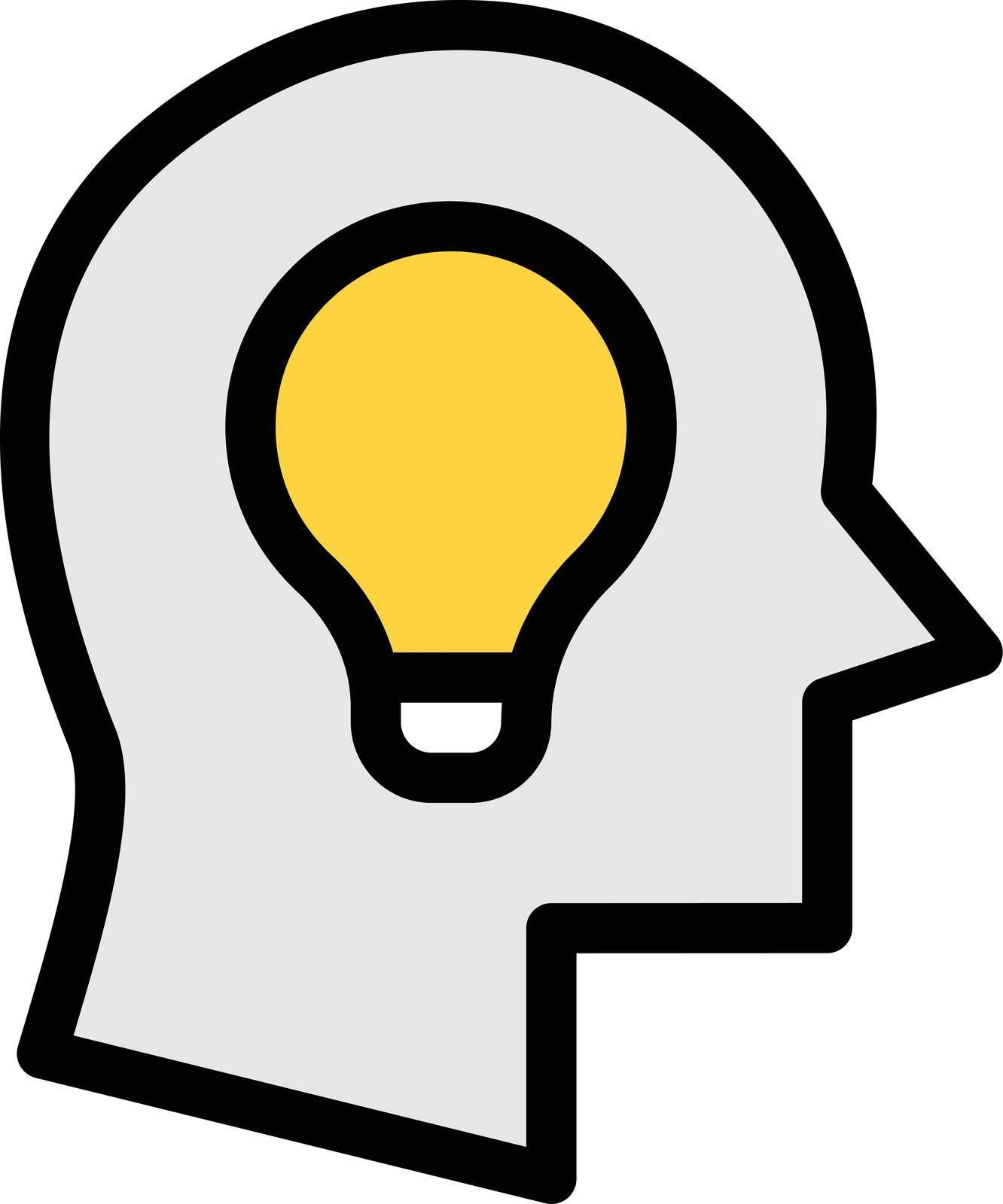 creative vector colour line icon