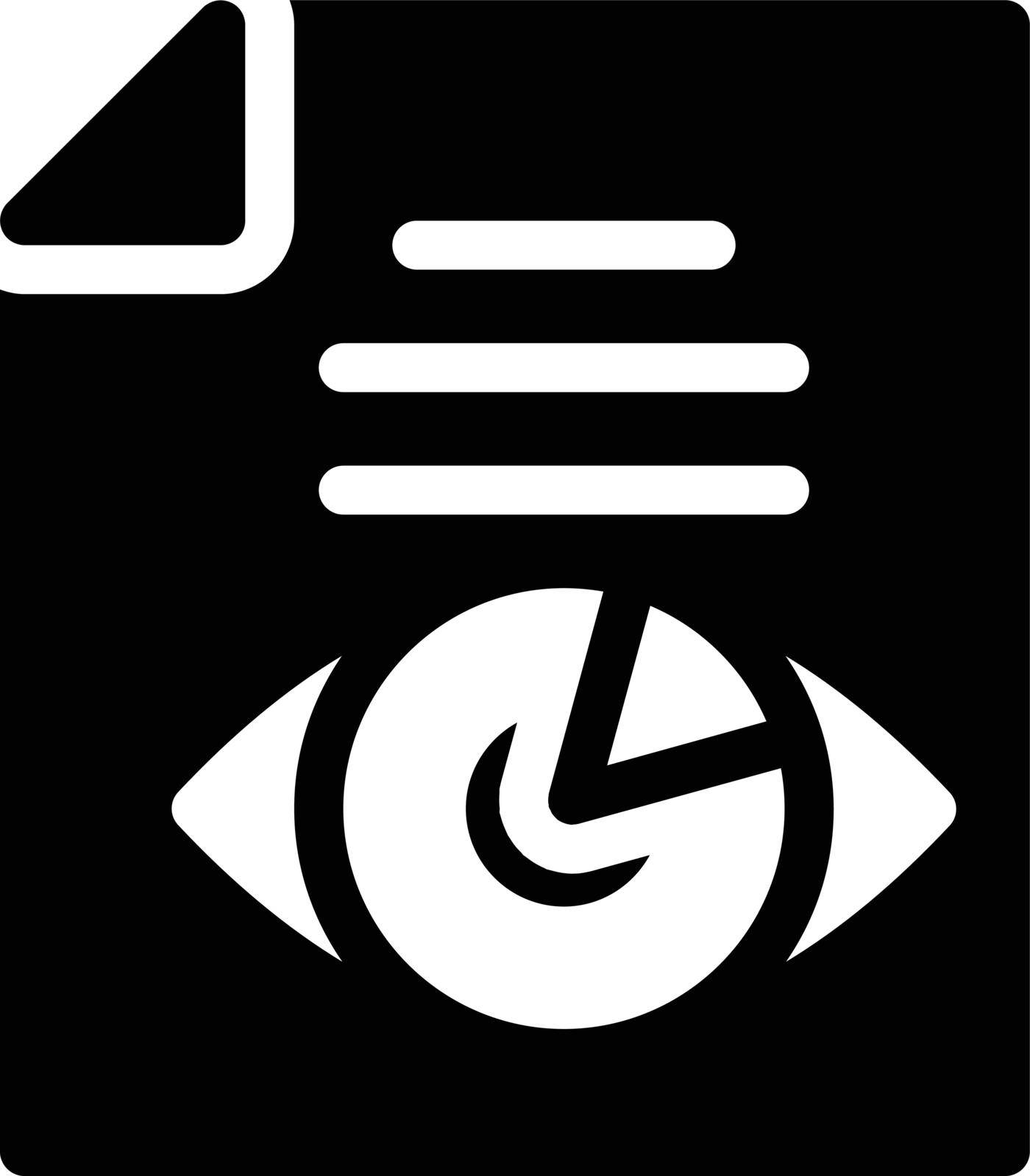 project vector glyph flat icon