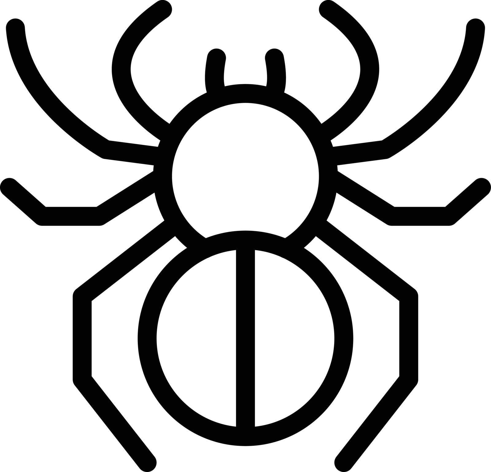 nature vector thin line icon