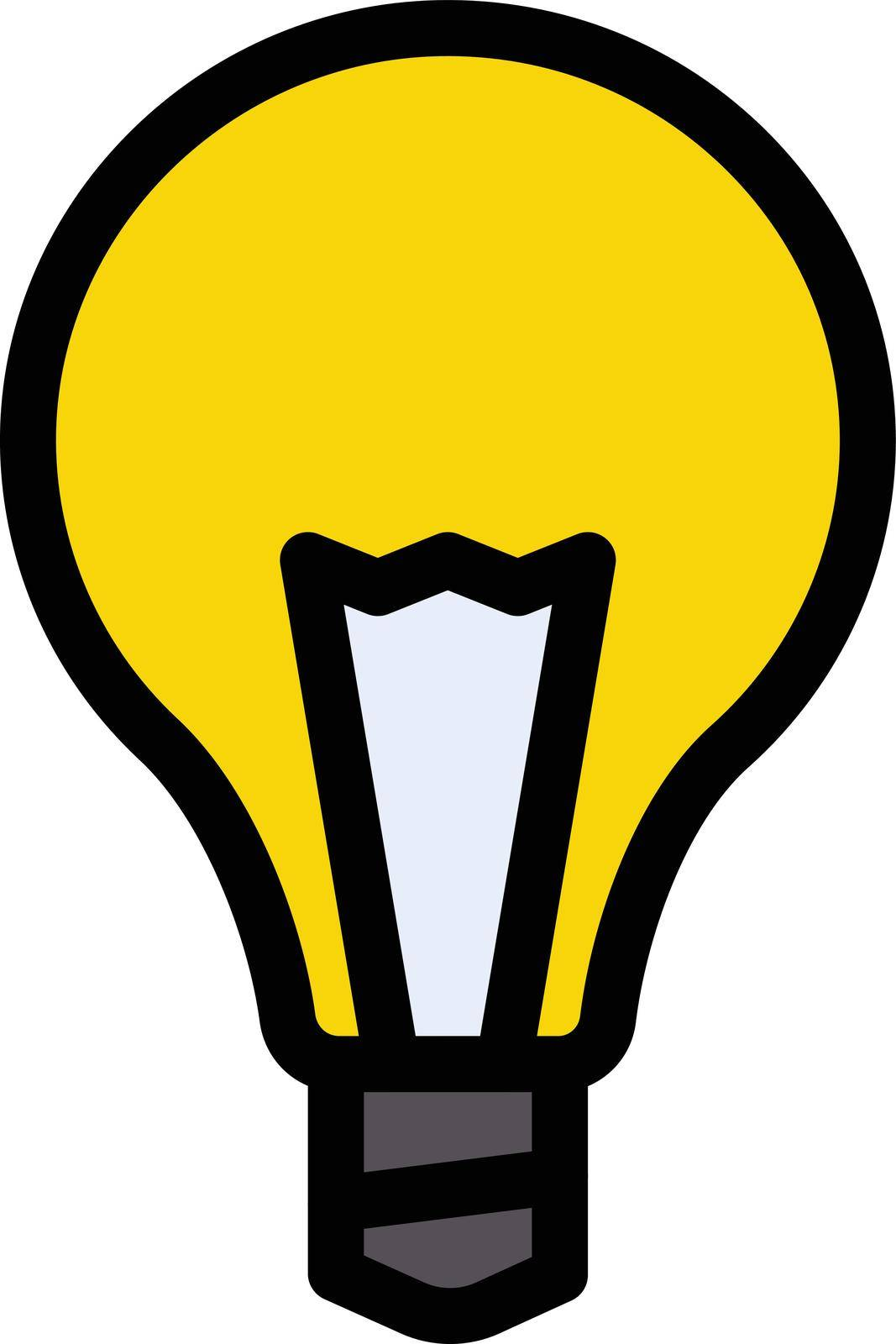 light vector color line icon