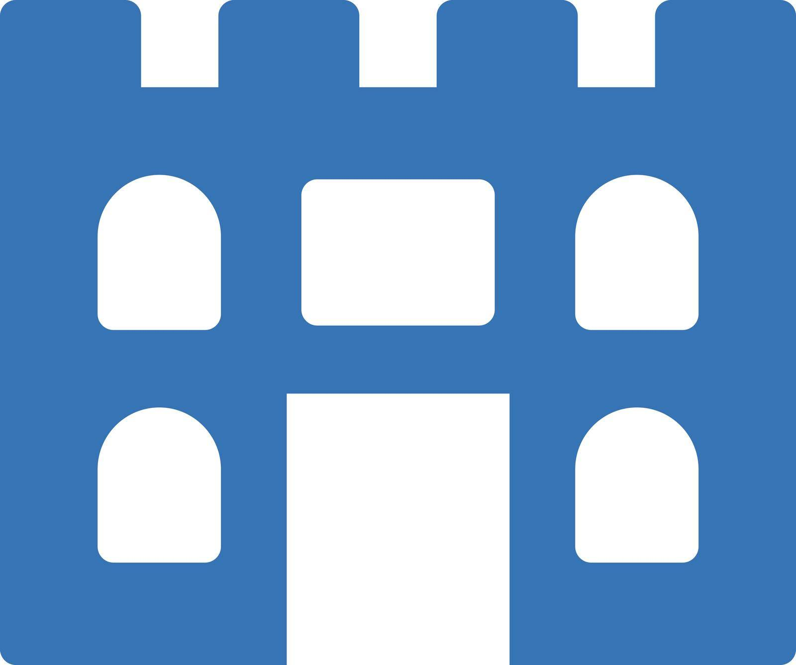 set vector glyph color icon