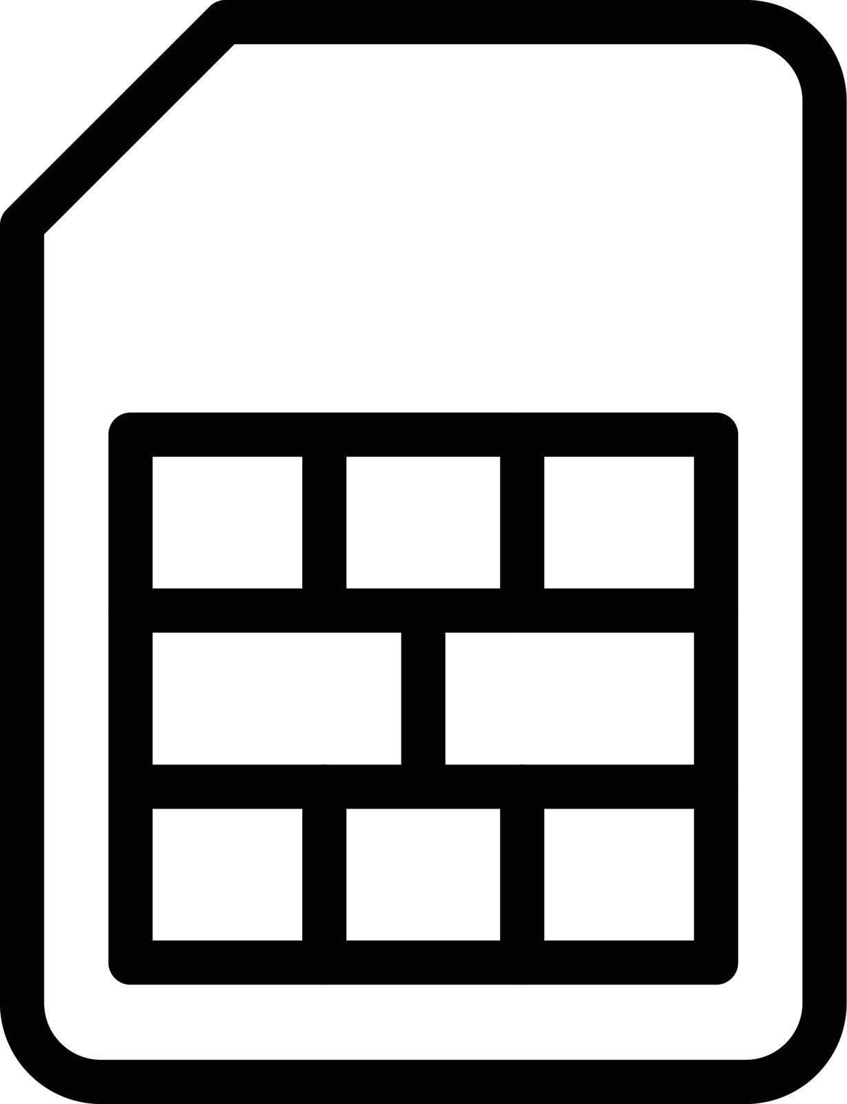 card vector thin line icon