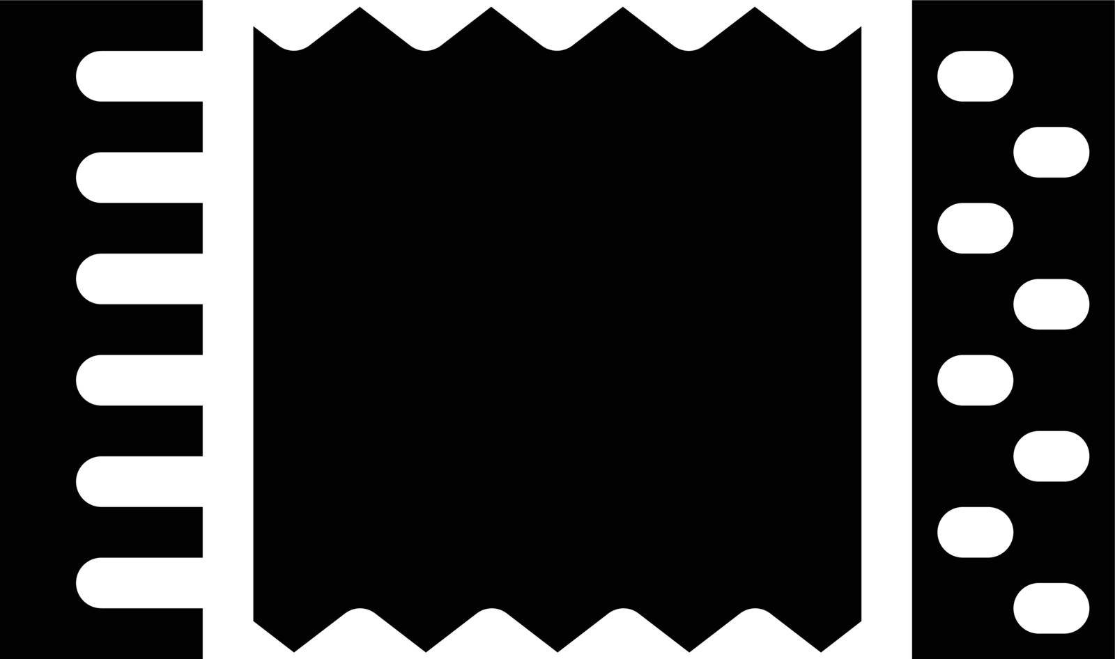 instrument vector glyph flat icon