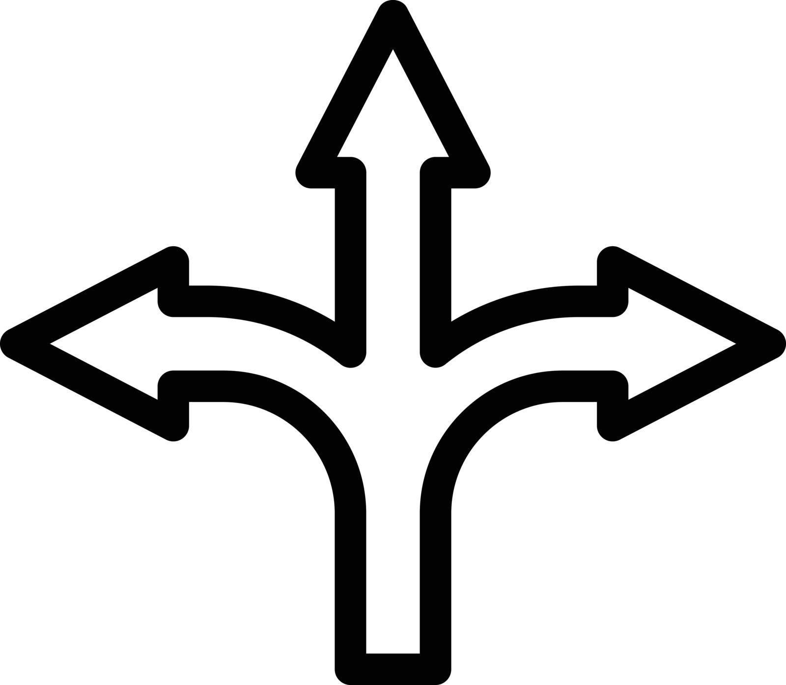 signal vector thin line icon