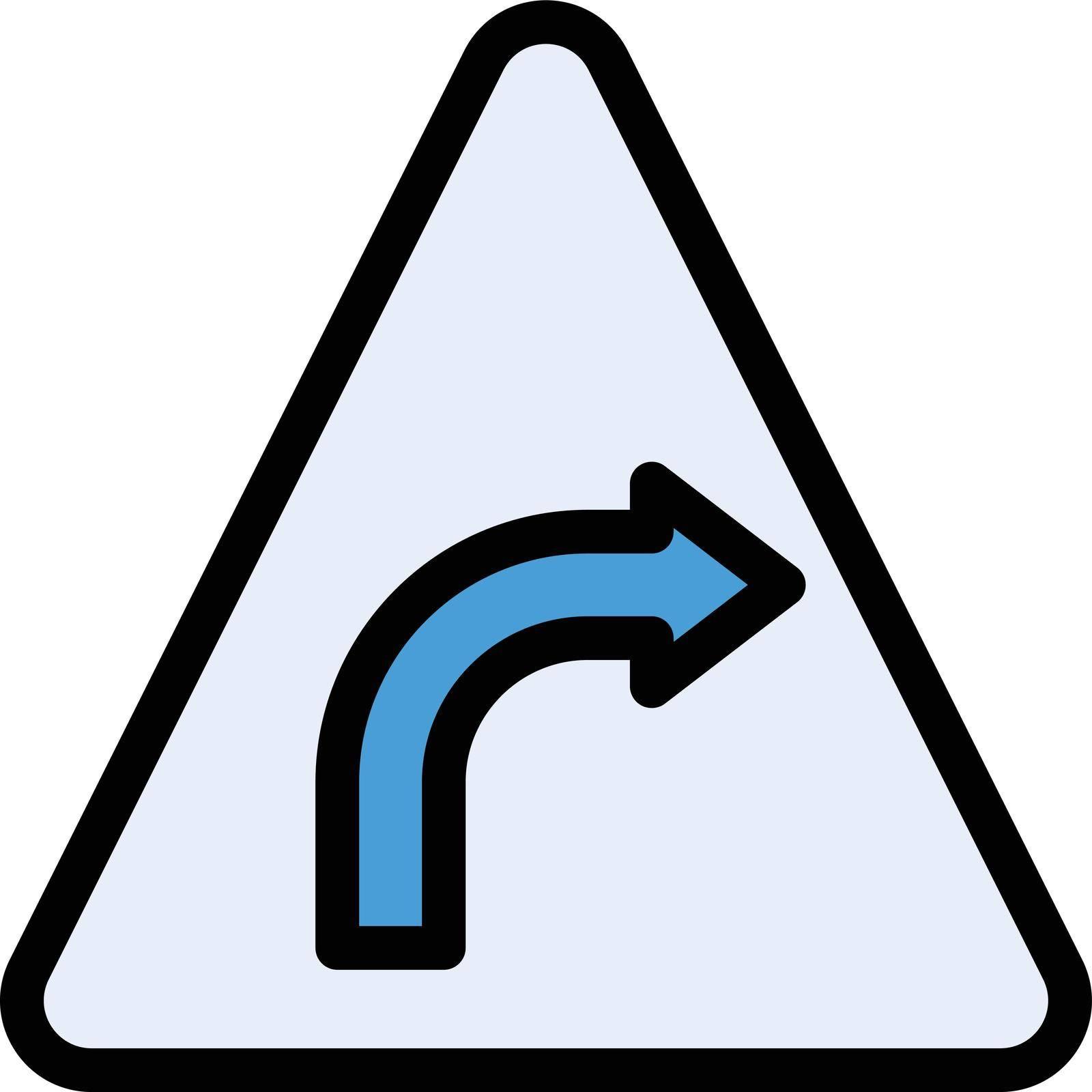 signal vector color line icon