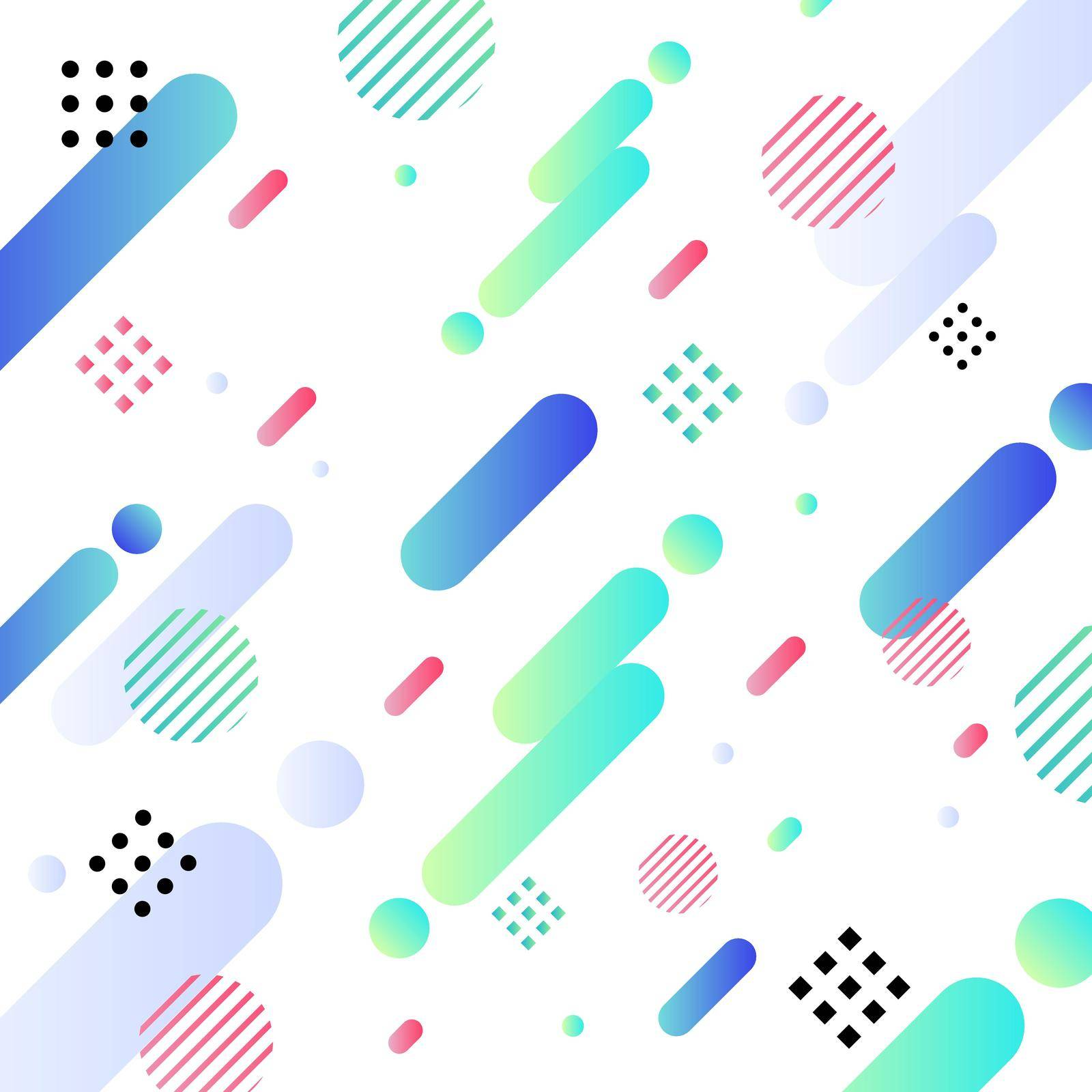 Abstract diagonal geometric pattern design bright color and background. You can use for modern cover design, template, decorated, brochure, flyer, poster, banner web. Vector illustration