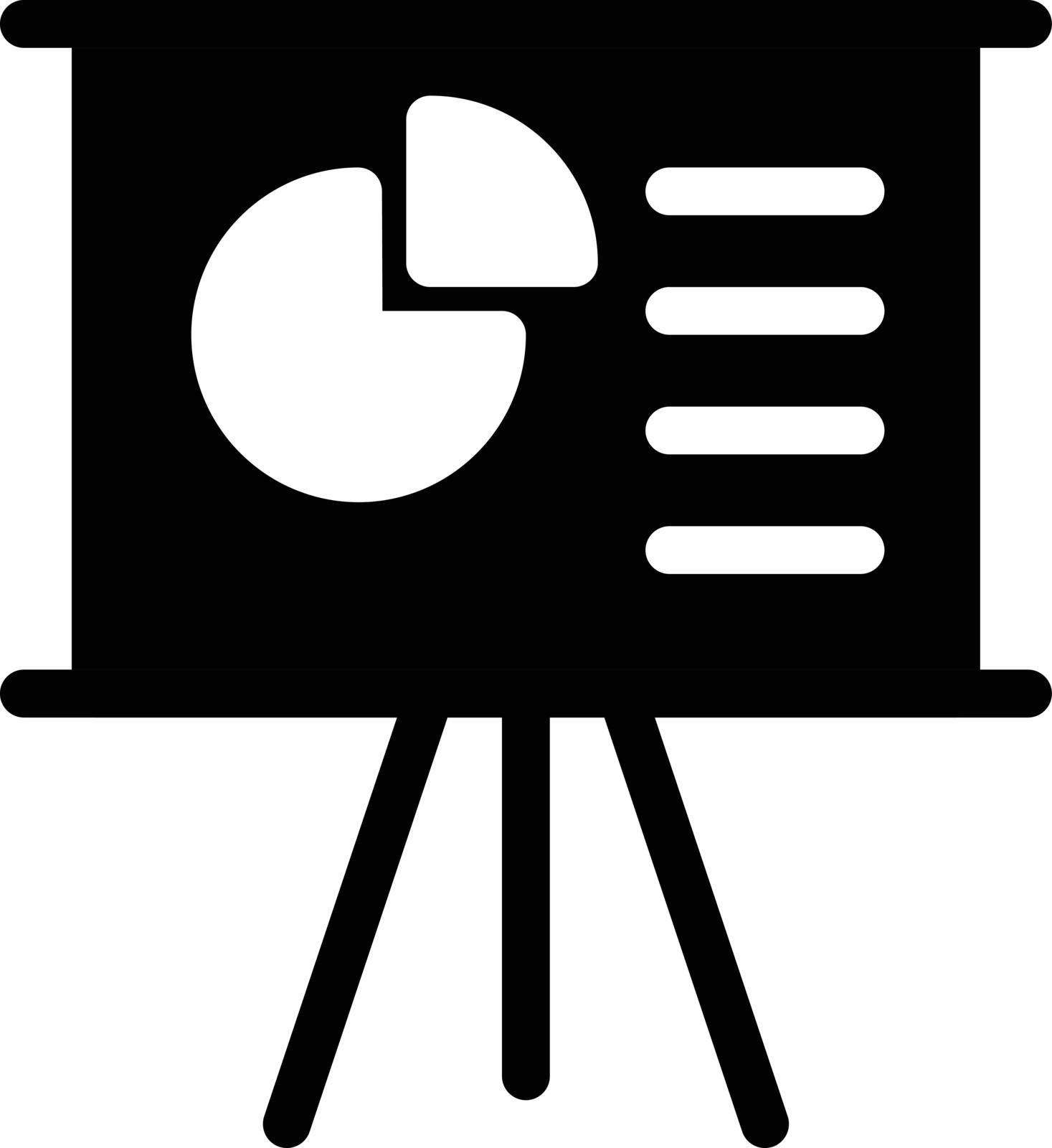 sign vector glyph flat icon