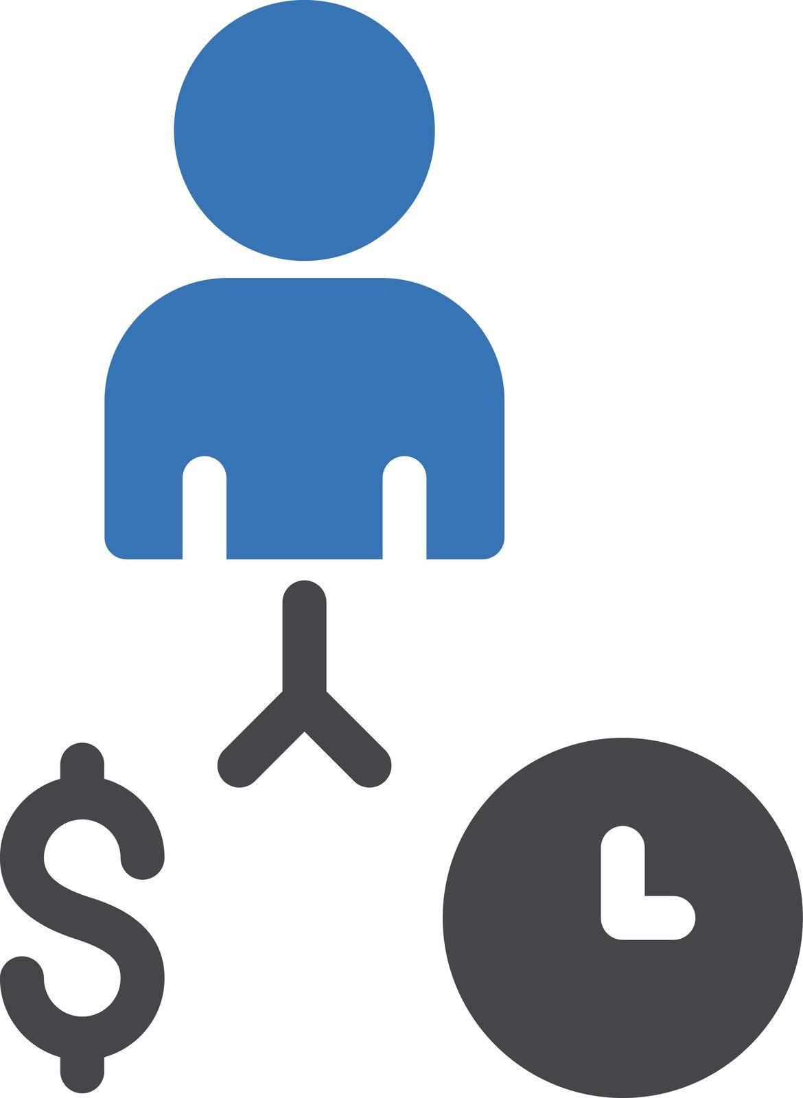 network vector glyph colour  icon