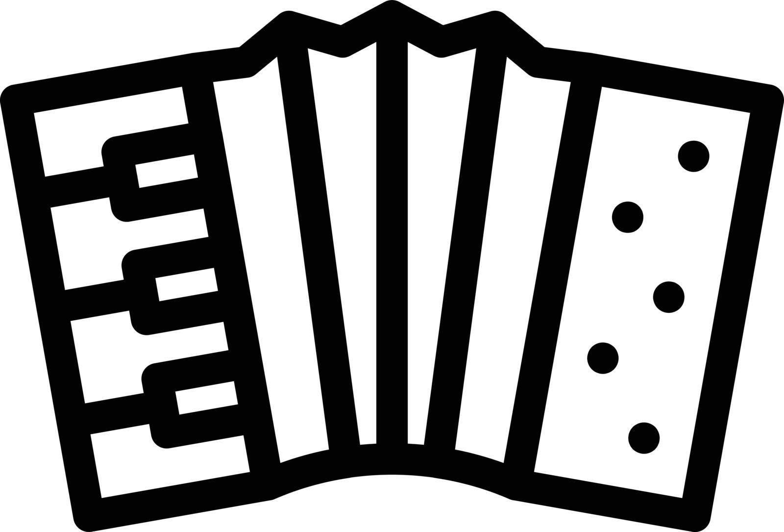 instrument vector thin line icon