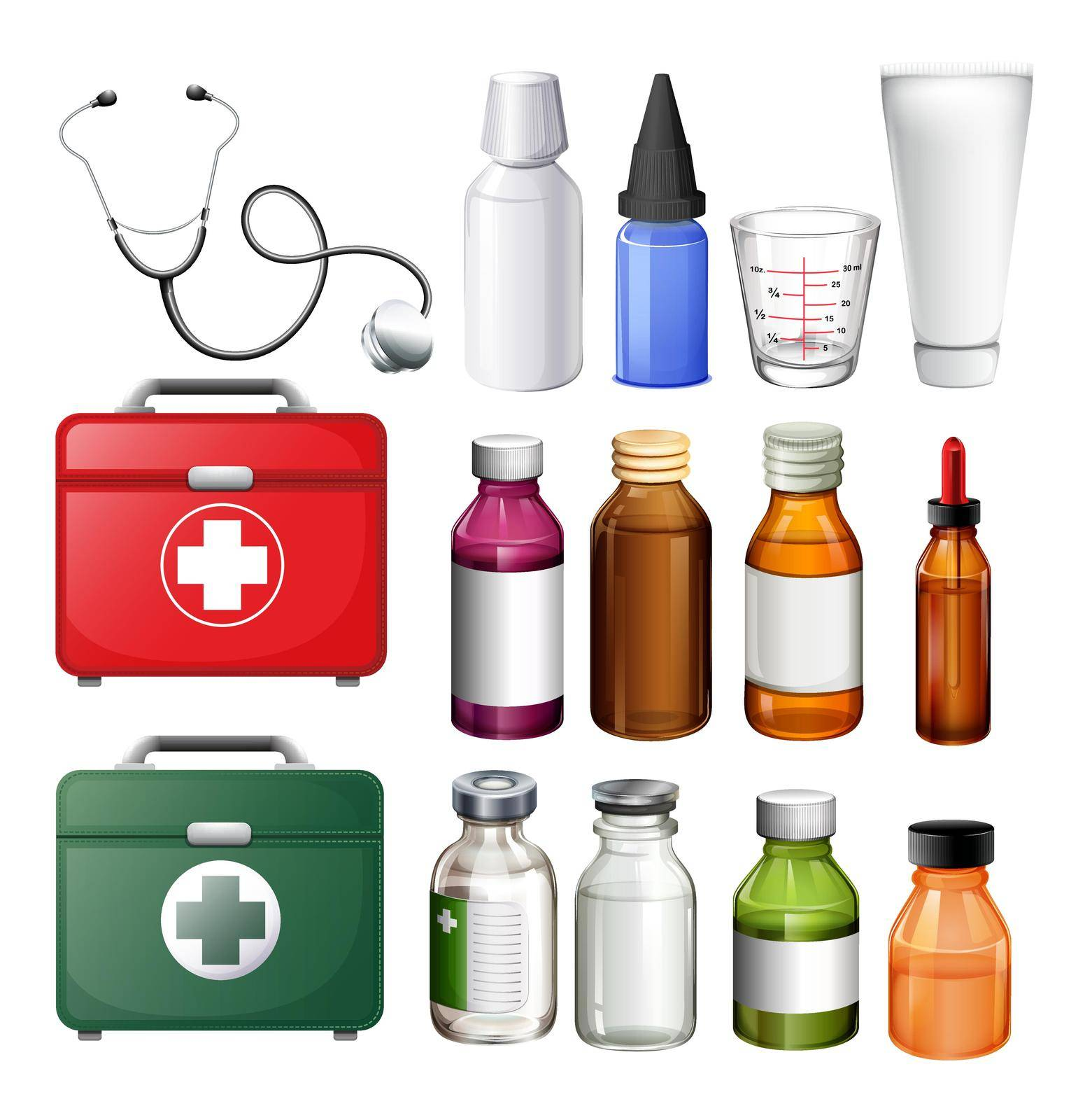 Medical equipment and containers by iimages