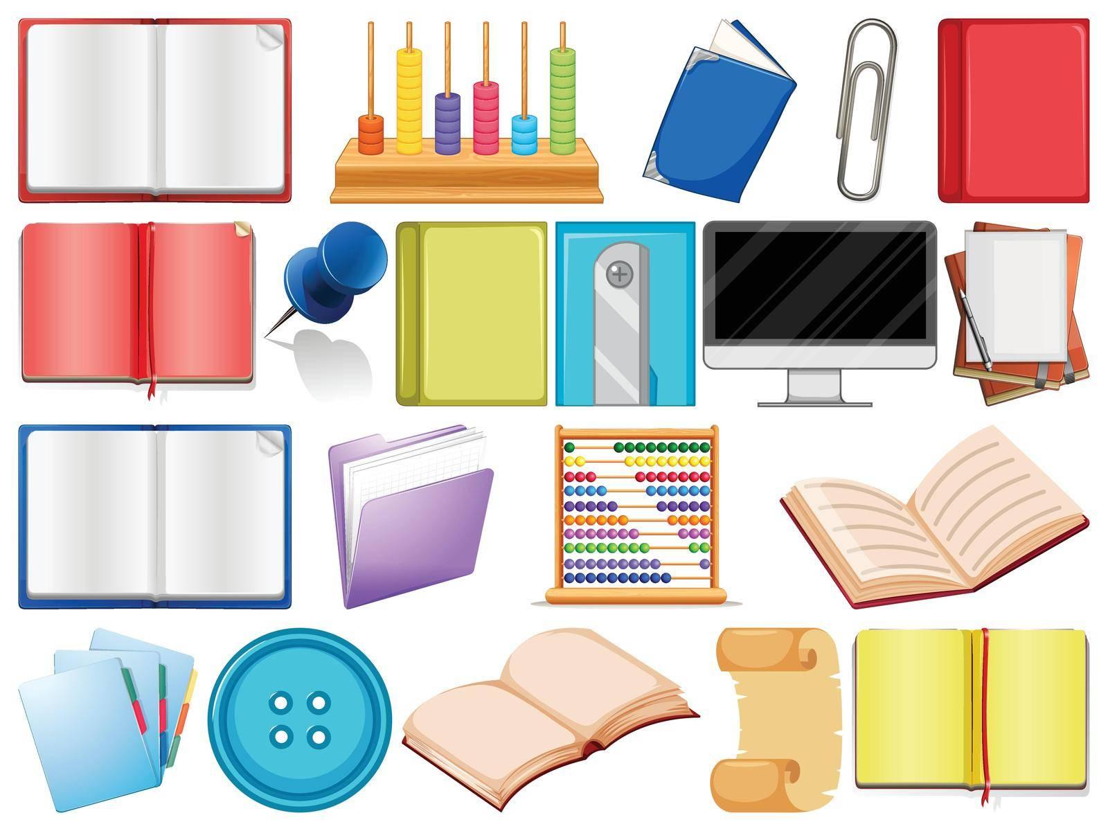 school or school equipment by iimages